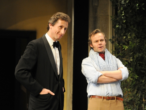 Nicholas Rowe (Buckle) and Jamie Glover (Headingly)